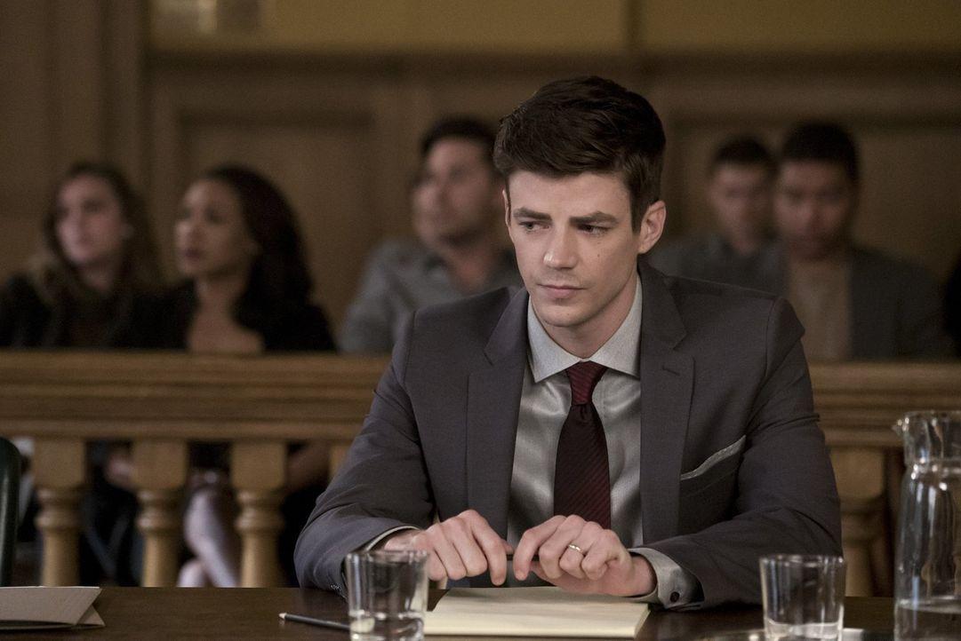 Als ein neues Metawesen die Stadt bedroht, trifft Barry (Grant Gustin) eine Entscheidung, die ihm zum Verhängnis werden könnte ... - Bildquelle: 2017 Warner Bros.