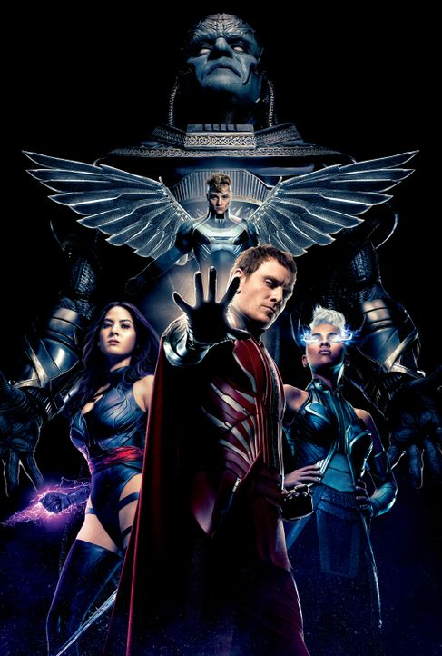 X-Men Apocalypse -Artwork - Bildquelle: 2016 Twentieth Century Fox Film Corporation.  All rights reserved.  MARVEL TM &   2016 MARVEL & Subs.