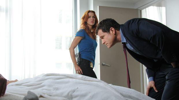 Unforgettable - Ein neuer Mordfall beschäftigt Carrie (Poppy Montgomery, l.)...