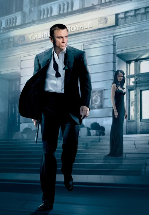 Casino Royale: James Bond (Daniel Craig, l.) und Vesper Lynd (Eva Green, r.) ... - Bildquelle: 2006 DANJAQ, LLC, UNITED ARTISTS CORPORATION AND COLUMBIA PICTURES INDUSTRIES, INC. ALL RIGHTS RESERVED.