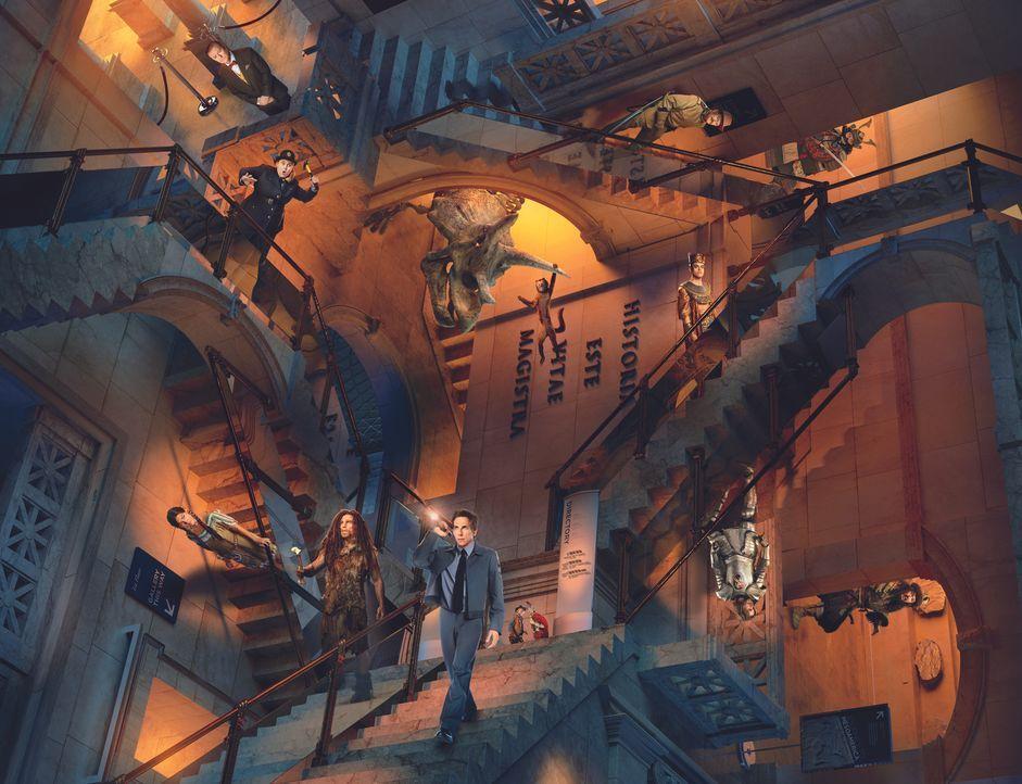 Nachts im Museum - Das geheimnisvolle Grabmal - Artwork - Bildquelle: 2014 Twentieth Century Fox Film Corporation.  All rights reserved.