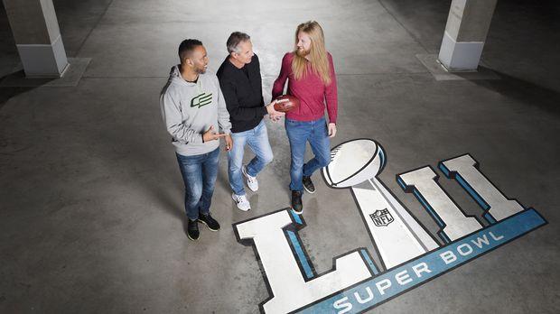 It's Super Sunday! ProSieben präsentiert den 52. Super Bowl live aus dem U.S....