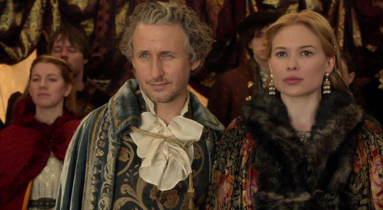 Lord Castleroy und seine Verlobte - Bildquelle: 2014 The CW Network. All Rights Reserved.