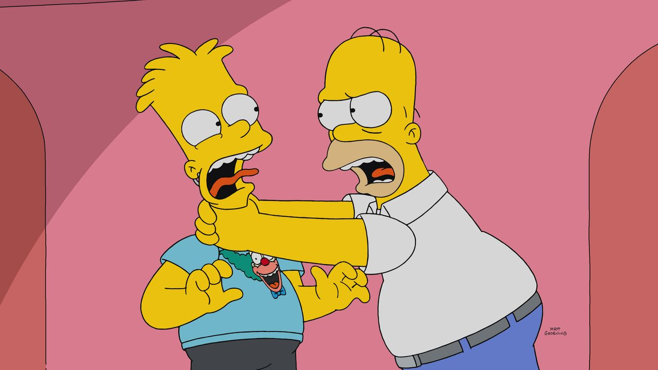 Wird sich denn bei Bart (l.) und seinem Vater Homer (r.) nie etwas ändern? - Bildquelle: 2017-2018 Fox and its related entities.  All rights reserved.