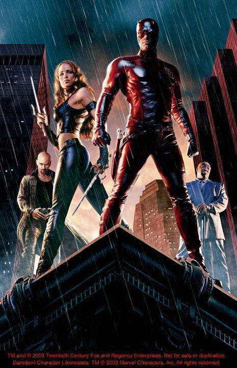 Daredevil mit Ben Affleck, Colin Farrell und Jennifer Garner - Bildquelle: 20th Century Fox