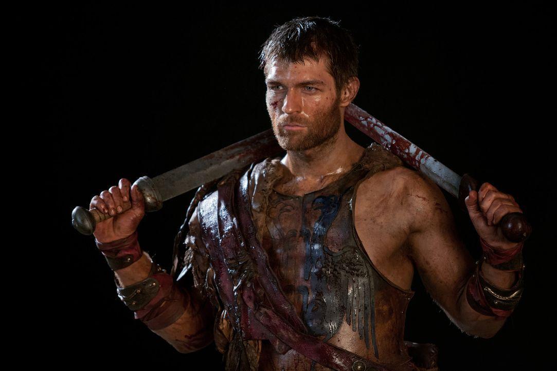 Seine Rachegelüste sind noch nicht gestillt: Spartacus (Liam McIntyre) ... - Bildquelle: 2013 Starz Entertainment, LLC.  All Rights Reserved