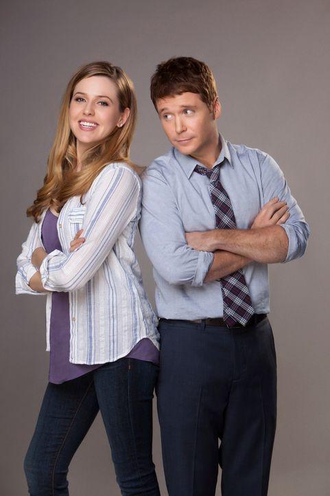 Andi (Majandra Delfino) und Bobby (Kevin Connolly) - Bildquelle: 2013 CBS Broadcasting, Inc. All Rights Reserved.