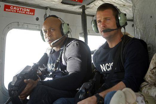 Navy CIS: L.A. - Ein neuer Einsatz wartet auf Callen (Chris O'Donnell, r.) un...