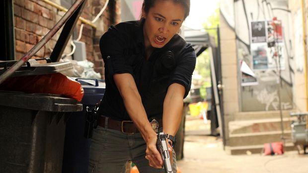 Muss in die Rolle eines eiskalten Angreifers schlüpfen: Detective Elizabeth L...