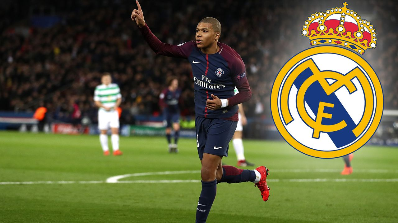 Domino-Szenario 3: Kylian Mbappe zu Real Madrid - Bildquelle: 2017 Getty Images