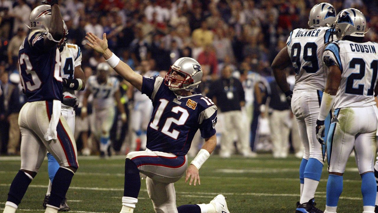 Super Bowl 2004: New England Patriots (32:29 gegen die Carolina Panthers) - Bildquelle: imago/Icon SMI
