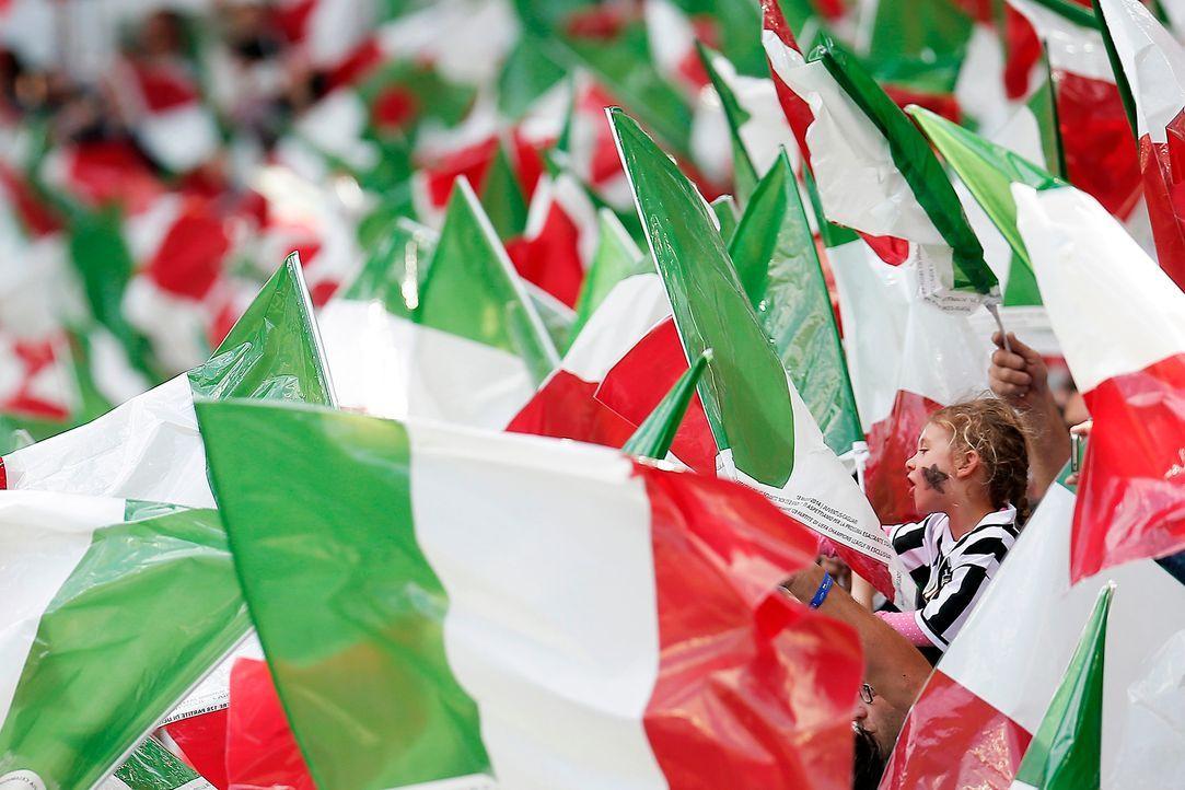Nationalstolz der Italiener - Bildquelle: AFP