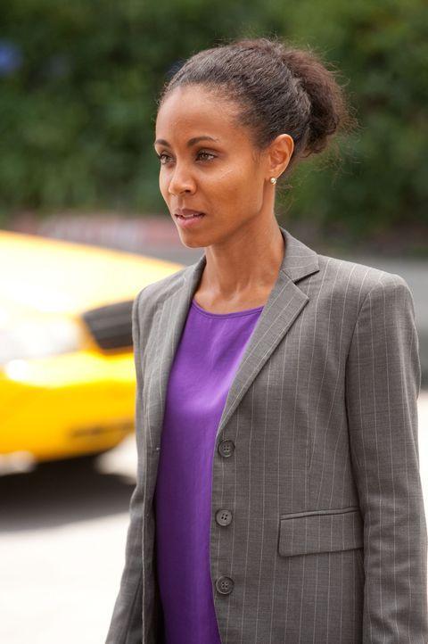 Nick bedrängt Christina (Jada Pinkett Smith), sich endlich zu entscheiden, doch sie bittet ihn, ihr noch etwas Zeit zu geben ... - Bildquelle: Sony Pictures Television Inc. All Rights Reserved.