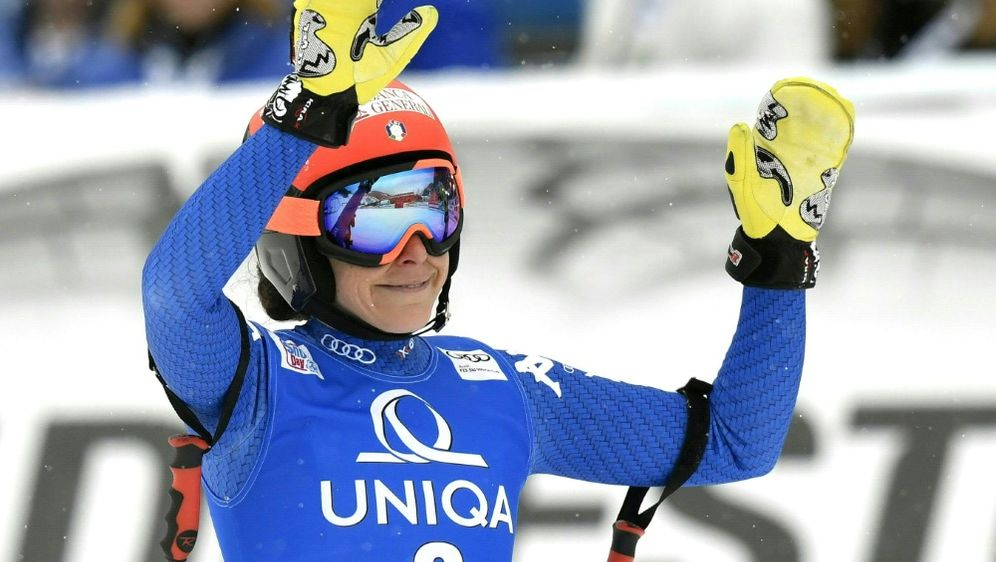 Siegerin in der Abfahrt: Federica Brignone - Bildquelle: APAAFPSIDHANS KLAUS TECHT