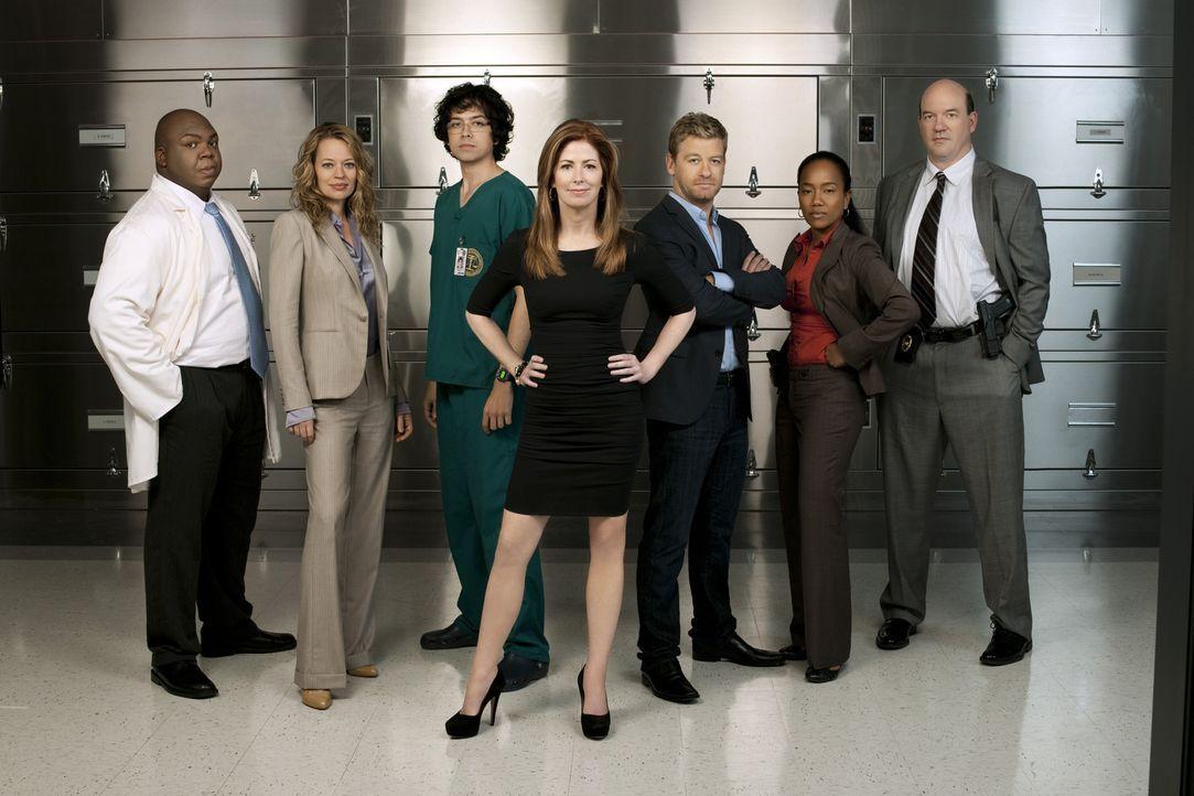 (1. Staffel) - Versuchen gemeinsam offene Mordfälle aufzuklären. Doch dort überschreitet Megan oft ihre Befugnisse und mischt sich in Fälle ein, die... - Bildquelle: 2010 American Broadcasting Companies, Inc. All rights reserved.