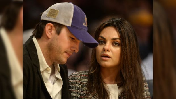 """Two and a Half Men""-Star Ashton Kutcher: Baby-Ultimatum setzt Mila..."