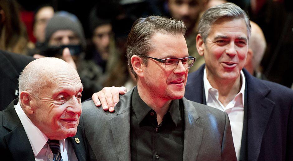 Berlinale-Harry-Ettlinger-Matt-Damon-George-Clooney-140208-dpa - Bildquelle: dpa