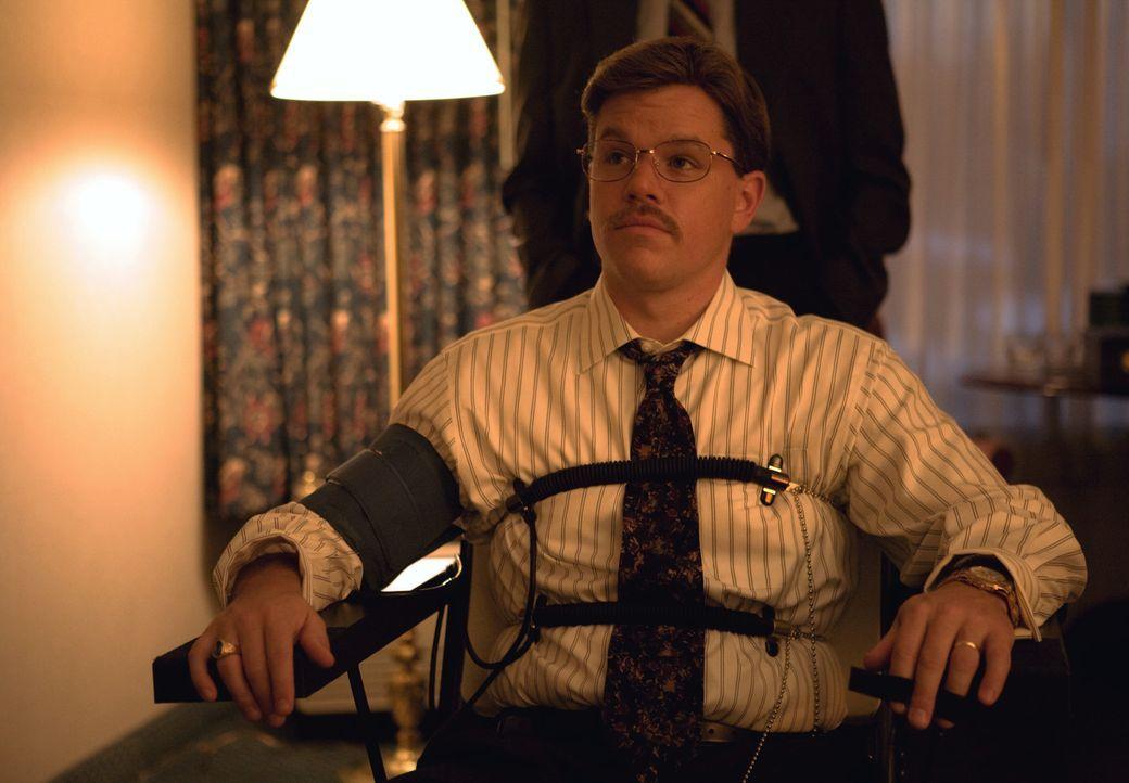 Das FBI weiß schon lange nicht mehr, was sie ihrem Informanten Mark Whitacre (Matt Damon) glauben können und was nicht, trotz Lügendetektortests.... - Bildquelle: Warner Bros. Pictures