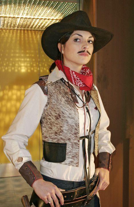 Mariella (Bianca Hein) als Cowboy - Bildquelle: Noreen Flynn Sat.1