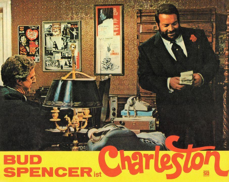Mit dem raffinierten Ganoven Charleston (Bud Spencer) sollte man sich besser nicht anlegen ... - Bildquelle: Tobis Film