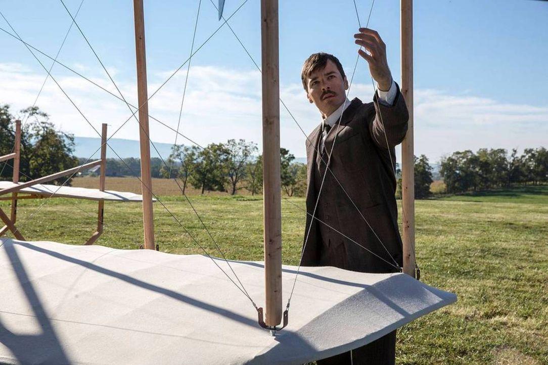 Wettstreit in der Luft: Die Gebrüder Wright machten aus ihrer Erfindung zuerst ein Geheimnis, sodass sie ihrem Rivalen Glenn Curtiss in die Hände sp... - Bildquelle: For National Geographic