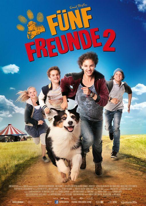 FÜNF FREUNDE 2 - Plakatmotiv - Bildquelle: 2012 Constantin Film Verleih/ Bernd Spauke