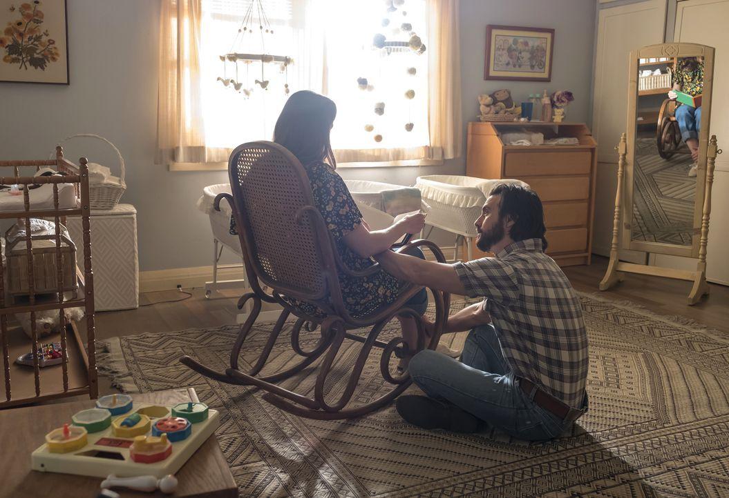 (v.l.n.r.)  Rebecca (Mandy Moore); Jack (Milo Ventimiglia) - Bildquelle: Ron Batzdorff 2017-2018 NBCUniversal Media, LLC.  All rights reserved.