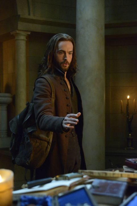 Wird es Ichabod (Tom Mison) und Abbie gelingen, drei Männern das Leben zu retten, obwohl verdammte Seelen sie gefangen halten? - Bildquelle: 2014 Fox and its related entities. All rights reserved