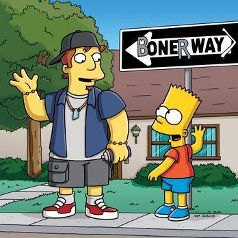 Die Simpsons - Rektor Skinner ist von Barts neuesten Scherzen wenig beeindruc...