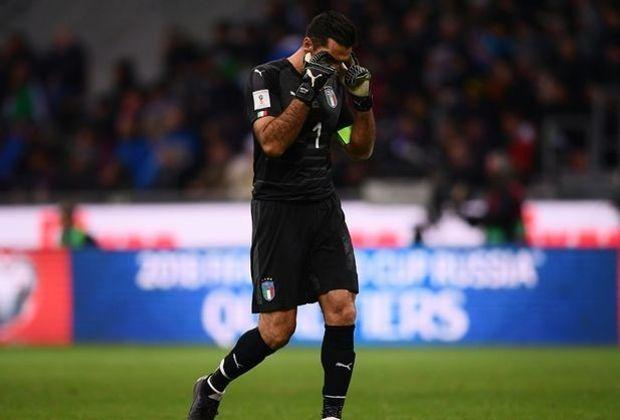 Buffon nahm insgesamt an fünf WM-Endrunden teil