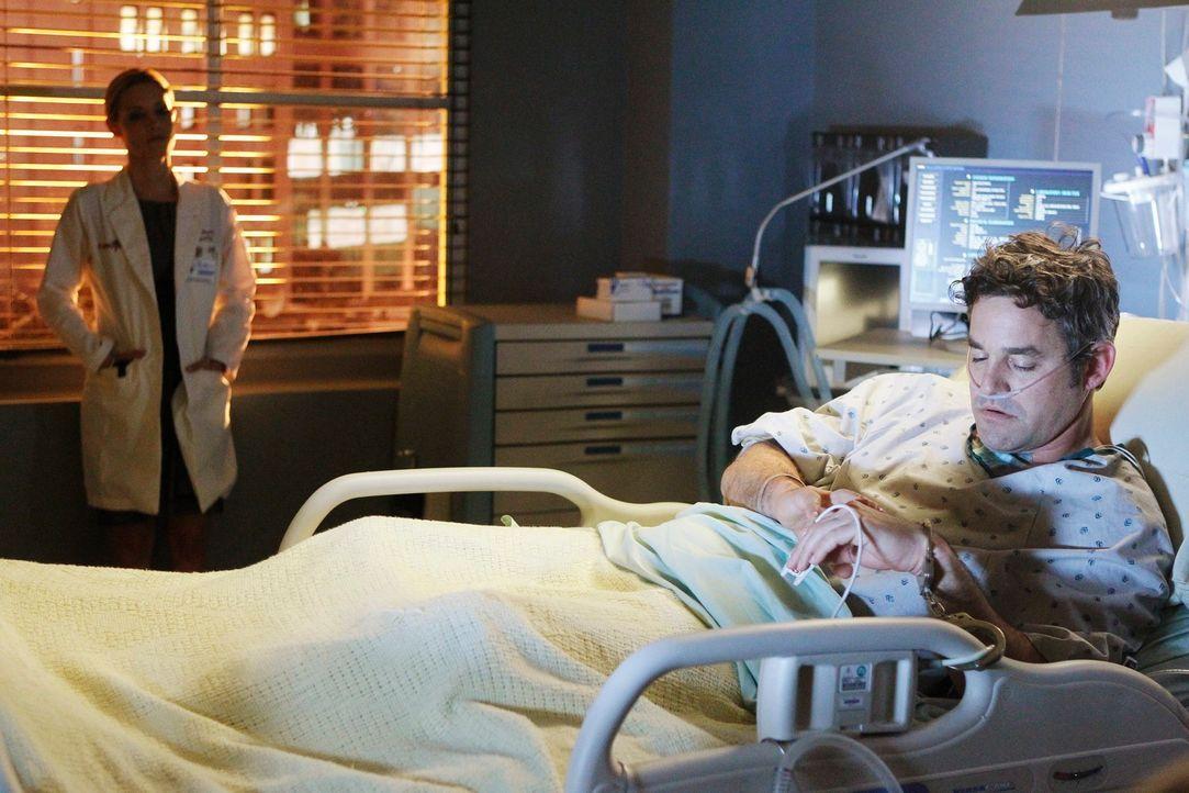 Wird Charlotte (KaDee Strickland, l.) ihrem Vergewaltiger Lee McHenry (Nicholas Brendon, r.) verzeihen können? - Bildquelle: ABC Studios