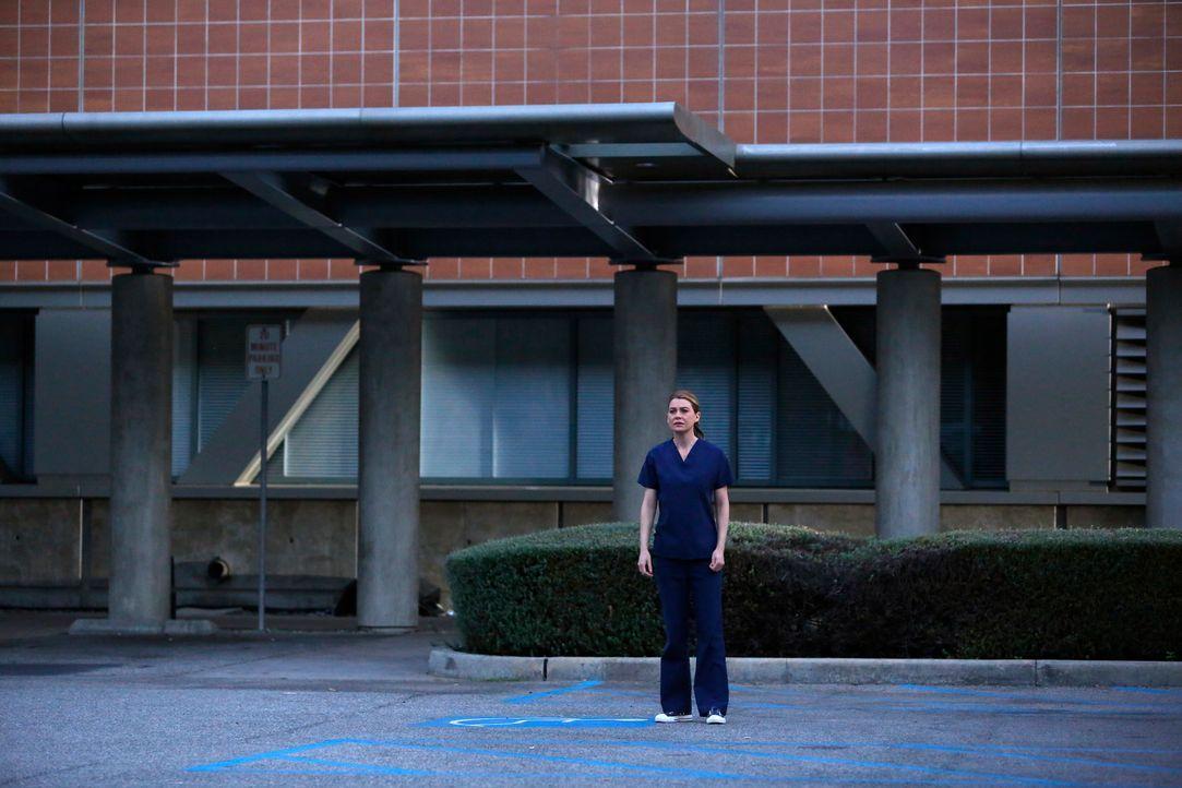 Trifft eine lebensverändernde Entscheidung: Meredith (Ellen Pompeo) ... - Bildquelle: ABC Studios