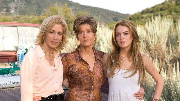 Endlich finden (v.l.n.r.) Lilly (Felicity Huffman), Georgia (Jane Fonda) und...