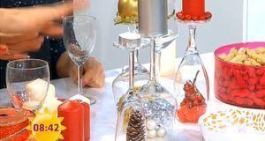 tisch weihnachtlich dekorieren ideen mit kerzen sat 1 ratgeber. Black Bedroom Furniture Sets. Home Design Ideas