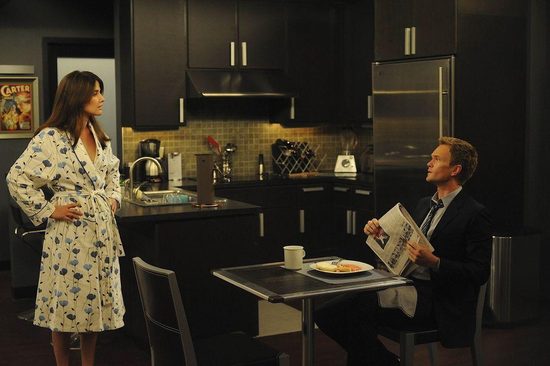 Sind Barney (Neil Patrick Harris, r.) und Robin (Cobie Smulders, l.) das perfekte Paar? - Bildquelle: 20th Century Fox International Television