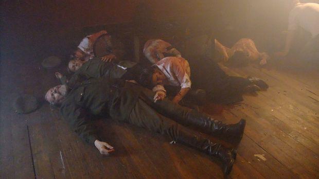 Im Jahre 1918 wurde die russische Zarenfamilie von Nicholas II. brutal ermord...