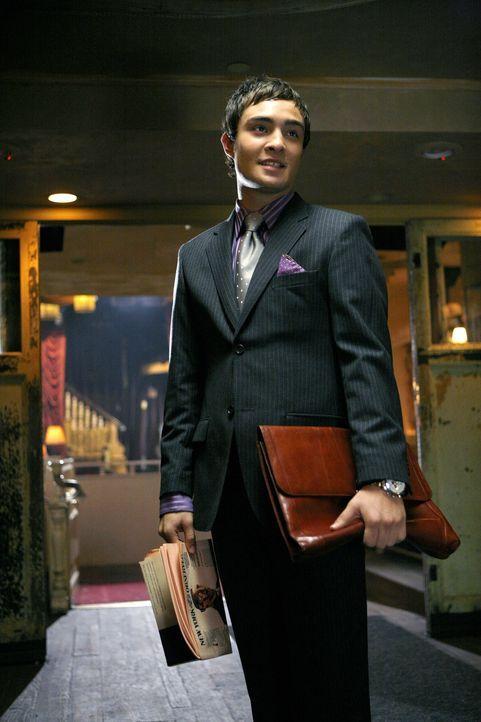 Um seinen Vater zu beeindrucken, hat sich Chuck (Ed Westwick) eine neue Geschäftsidee überlegt: Er will in einen Striptease-Club investieren ... - Bildquelle: Warner Brothers