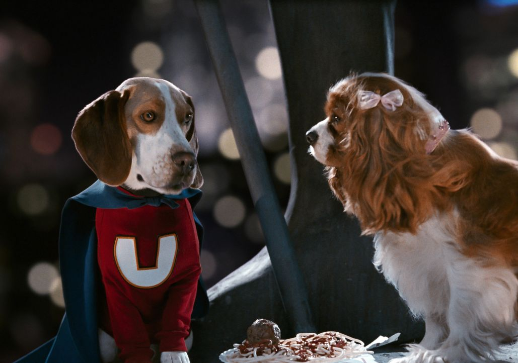 Dank einiger chemischer Experimente entwickelt sich Underdog vom süßen Beagle zum Superhund ... - Bildquelle: Walt Disney Pictures.  All rights reserved