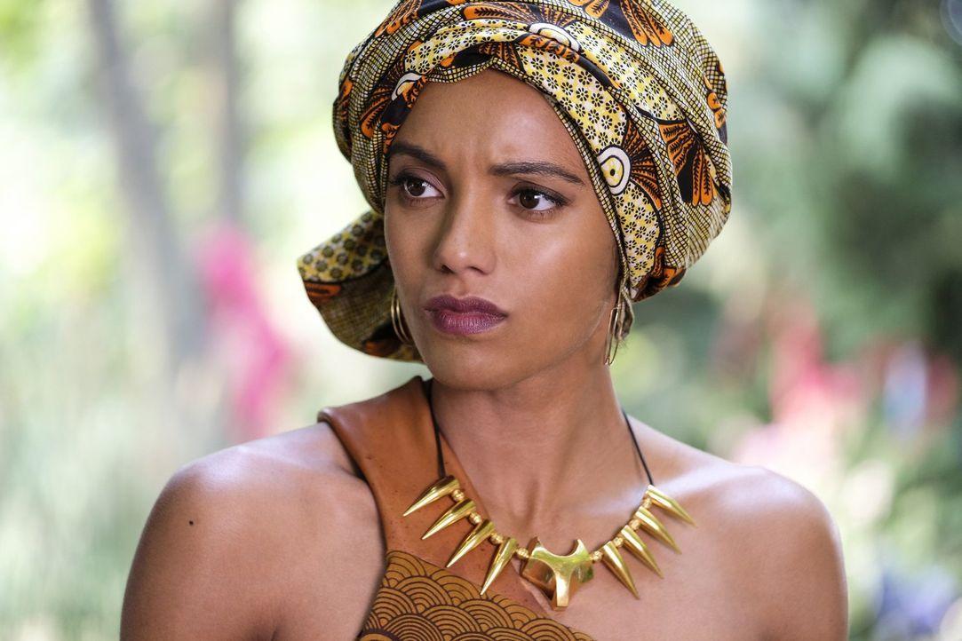 Amaya (Maisie Richardson-Sellers) versucht weiterhin, ihr Kräfte zu kontrollieren, doch diese scheinen immer mehr Macht über sie zu haben ... - Bildquelle: 2017 Warner Bros.