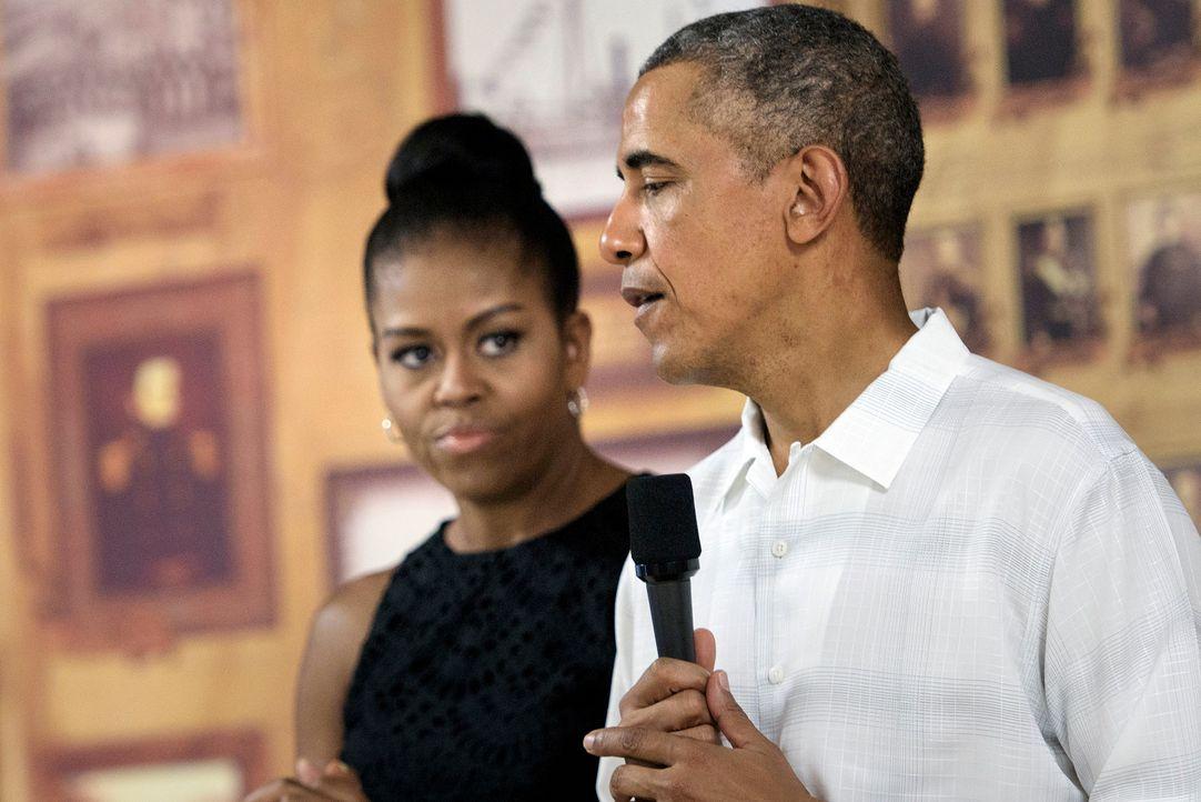 Barack-und-Michelle-Obama-151226-AFP - Bildquelle: AFP