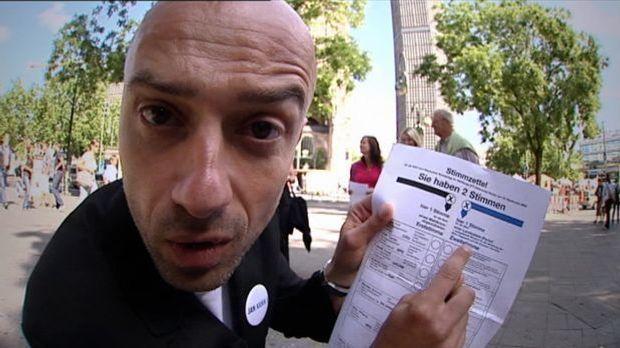 Wahlhappen: Erst- und Zweitstimme