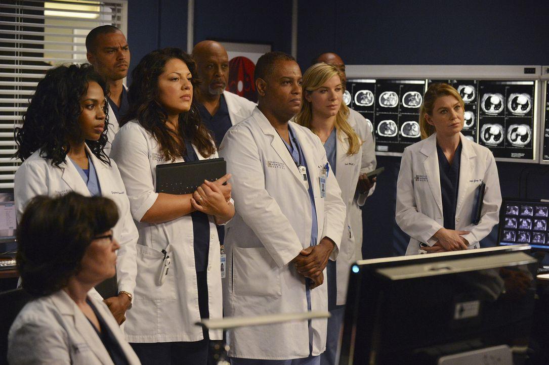 Eine komplizierte Operation an Siamesischen Zwillingen steht bevor. Das ganze Team wird darauf vorbereitet: Stephanie (Jerrika Hinton, 2.v.l.), Jack... - Bildquelle: ABC Studios