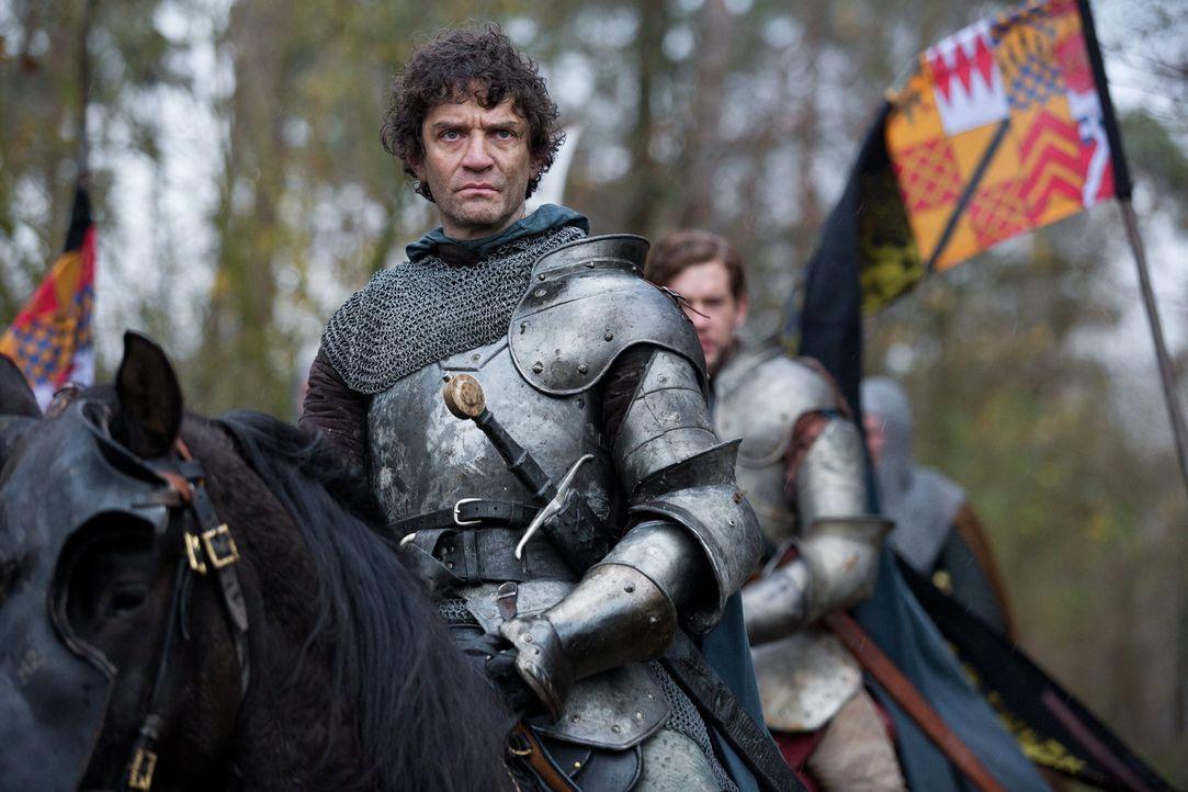 Der Armee von Warwick (James Frain) steht eine blutige Schlacht bevor. Hat er eine Chance, zu siegen? - Bildquelle: 2013 Starz Entertainment LLC, All rights reserved