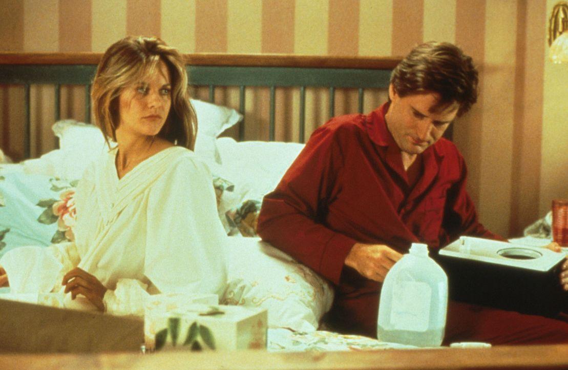 Eigentlich wollte Annie (Meg Ryan, l.) den langweiligen Walter (Bill Pullman, r.) heiraten - doch wie es das Schicksal so will, kommt alles ganz and... - Bildquelle: Columbia TriStar