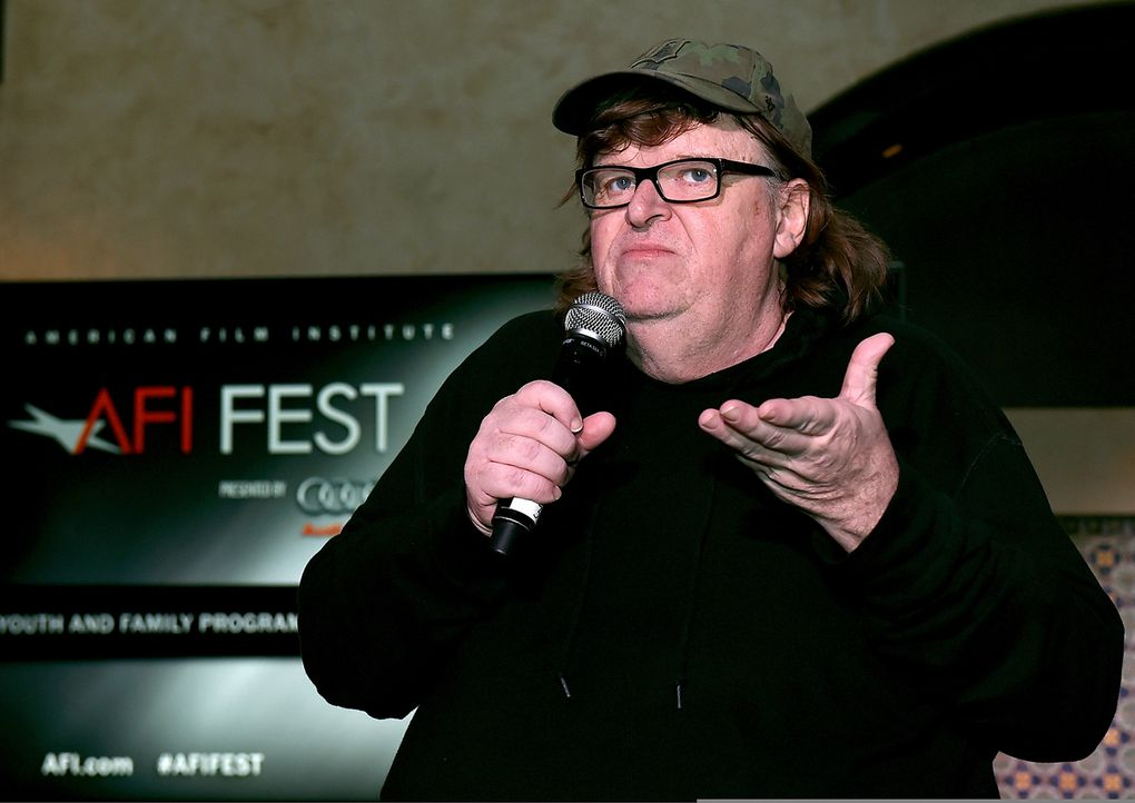 michael-moore-afp - Bildquelle: KEVIN WINTER / GETTY IMAGES NORTH AMERICA / AFP