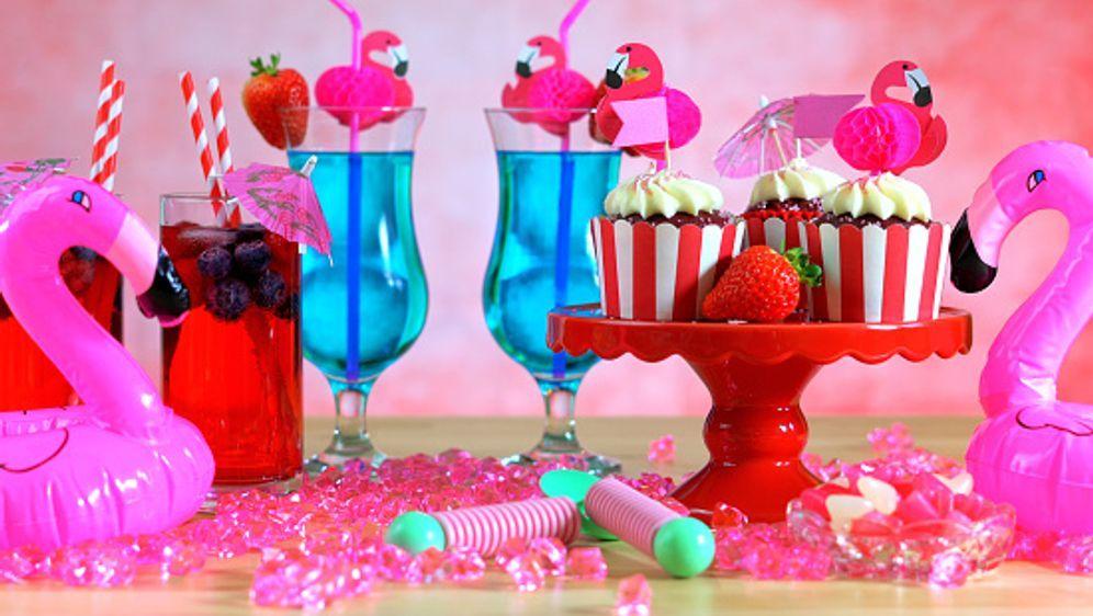 Flamingo deko f r partys diy - Party deko berlin ...