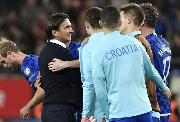 Dalic (l.) darf die Kroaten auch bei der WM coachen