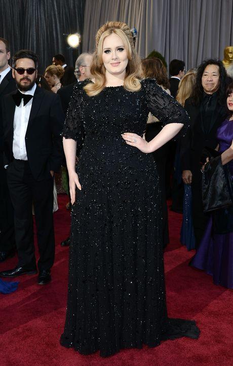 Adele auf dem Red Carpet 2013 - Bildquelle: AFP