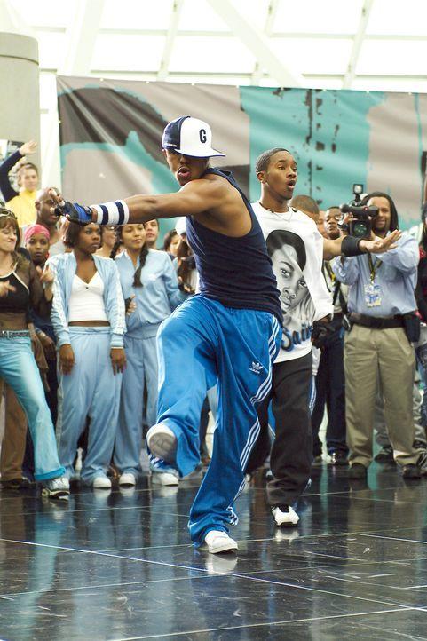 Ihre Welt ist der Hip Hop: Elgin (Marques Houston, r.) und Rico (J-Boog, l.) ... - Bildquelle: 2004 Screen Gems, Inc. All Rights Reserved.