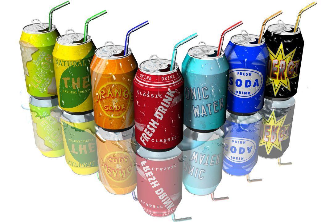 Limo, Cola und Energydrinks - Bildquelle: massimo_g - Fotolia